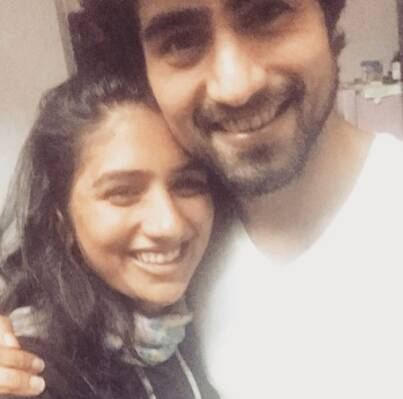 Harshad Chopda sister