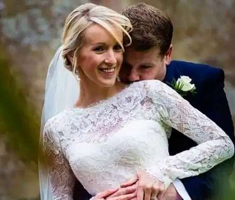 Julia Carey marriage day picture